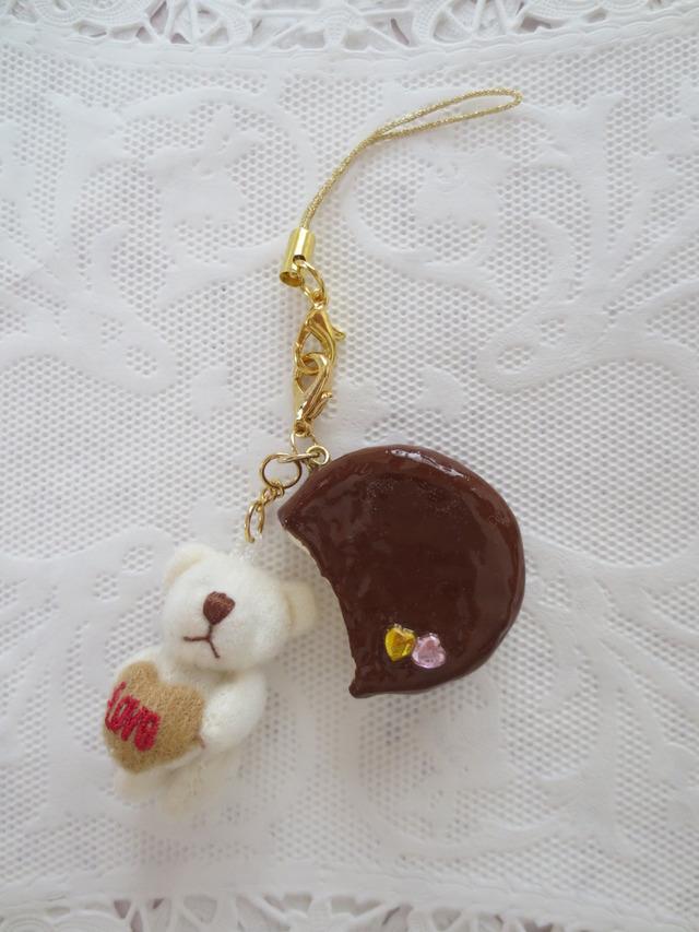 LOVEベア&チョコパイストラップ☆