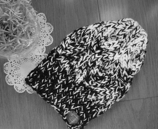 ☆彡for men's bonfire(篝火)のknit帽モノトーングラデーション