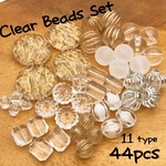 【brsr307oripp】【Thanks.price】【44個】clear beads set