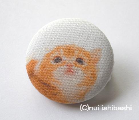 M&Nオリジナル写真布バッジ/子猫A