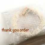 thank you order