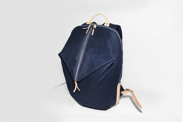 a41213981e3b 帆布+本革手作りのクラシックリュックサック 017003 | ハンドメイド ...