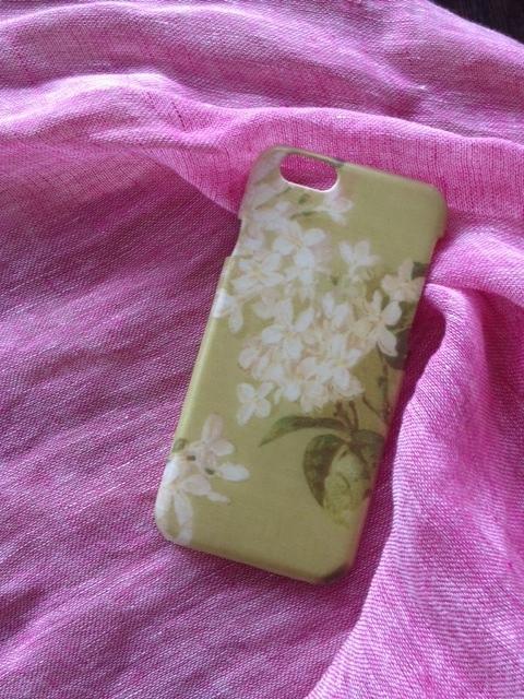 リバティ iphone6ケース(アーカイブ ライラック)