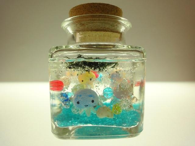 クラゲアクアリウム ぷちくらげちゃん コルクボトル