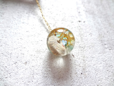<SOLD>Seascape Necklace a