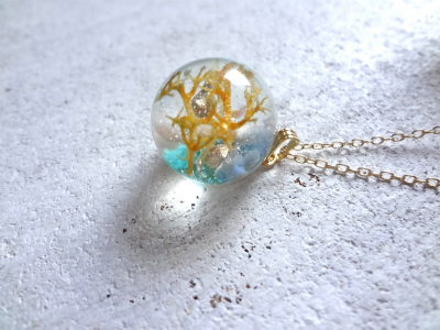 <SOLD>Seascape Necklace b