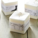 SOY CANDEL(CUBE)| 100%SOYWAX