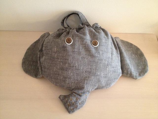 《Mさまオーダー》特大ぞうさんバッグ