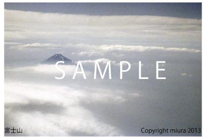 世界文化遺産 富士山 POSTCARD(3枚1セ...