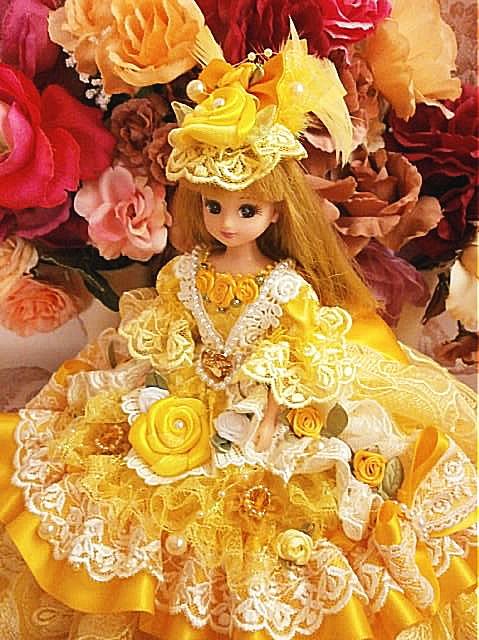 4ccaca13682fc SOLD リカちゃん チューリップのお姫様 ダブルリボンドレス ...