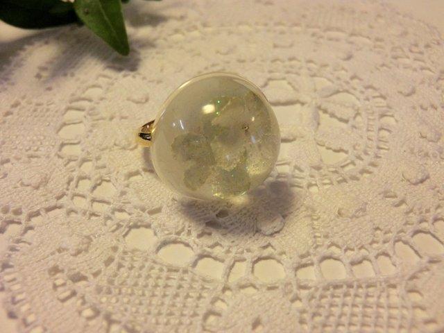 大手毬(オオデマリ)のリング