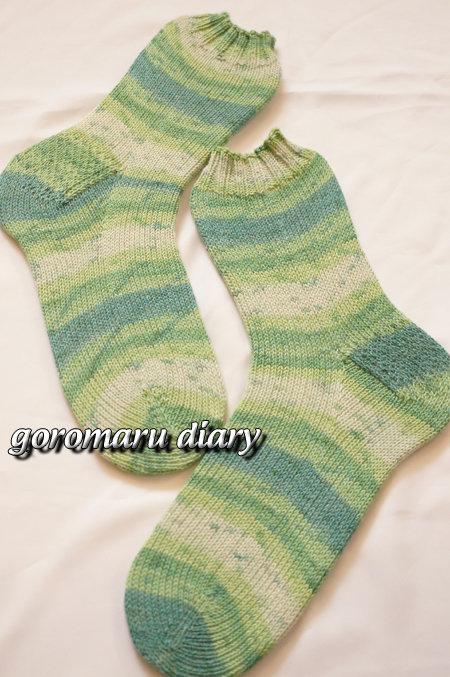 ☆ウォッシャブル☆春夏も快適♪手編みの靴下