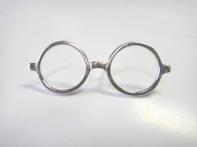 「ロイド眼鏡」ピンブローチ
