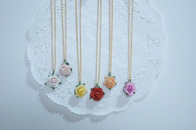 【 rose rose 】Necklace