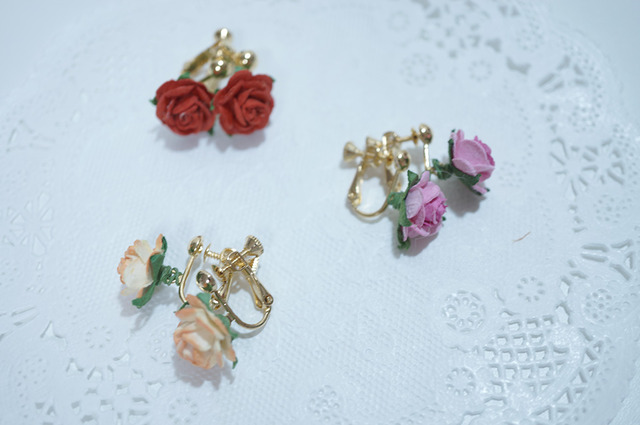 【 rose rose 】 Earring