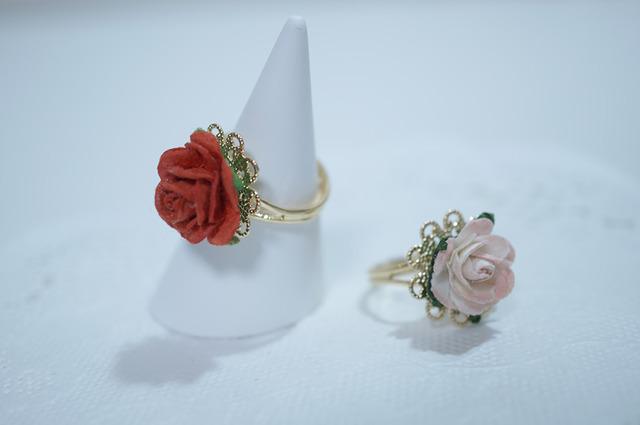 【 rose rose 】Plate Ring  【 ro...
