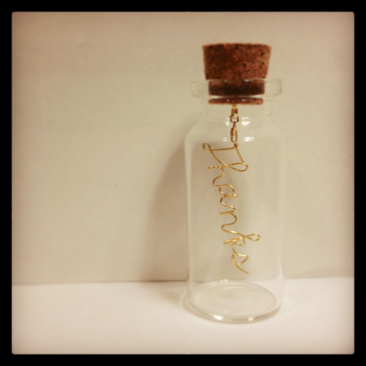 message in the bottle(thanks)������̵����