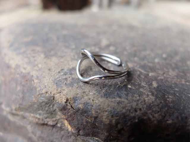 【eye】stainless ring