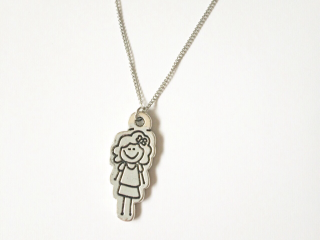 Girl/Boy pendant