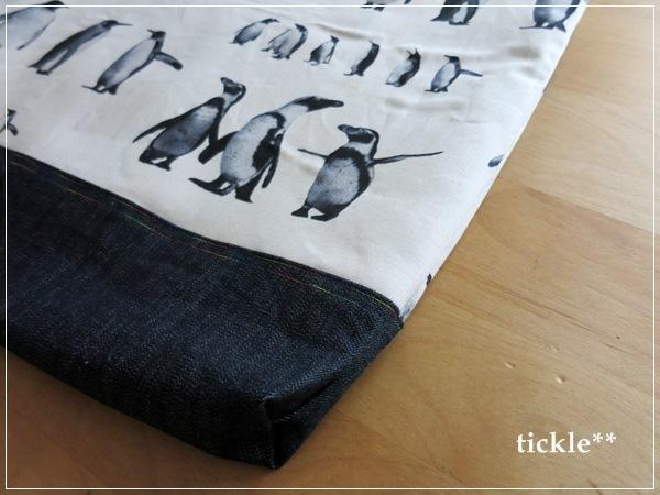 リアルペンギンさんたちのレッスンバッグ