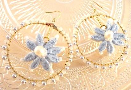 Flower circle pierce