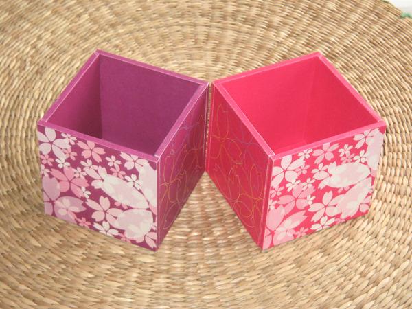 桜のペン立てのセット
