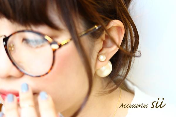 cotton pearl pierce/SS��L