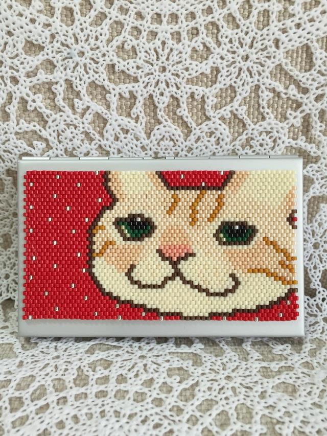 カードケース(ぽっちゃりネコ?)