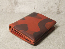 Type: Smooth | Short Wallet Ver.1 - Camo Red