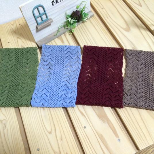 透かし編み ターバン