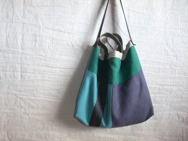 itoiro bag (blue gray)