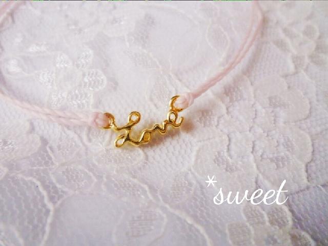 *sweet love*�ߥ����ɥ֥쥹��å�/��20����