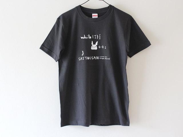 サイトウサン++Tシャツ 男性用M スミ