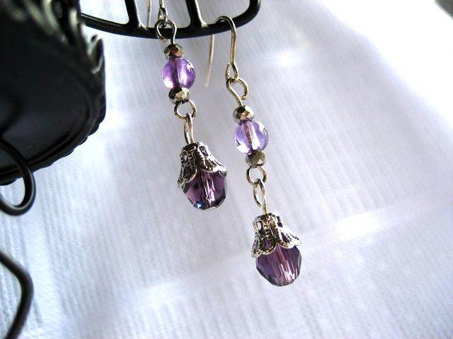 紫雫とアメジストのピアス_279