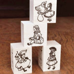 4つのハンコ Alice's rubber stamps