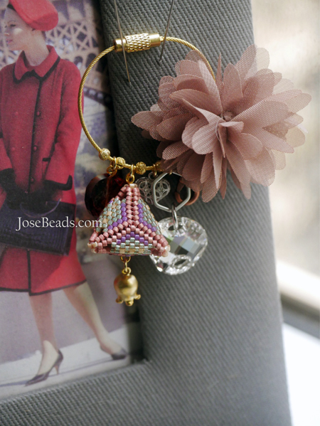 <3D Triangle bag charm>13th anniversary May 2018