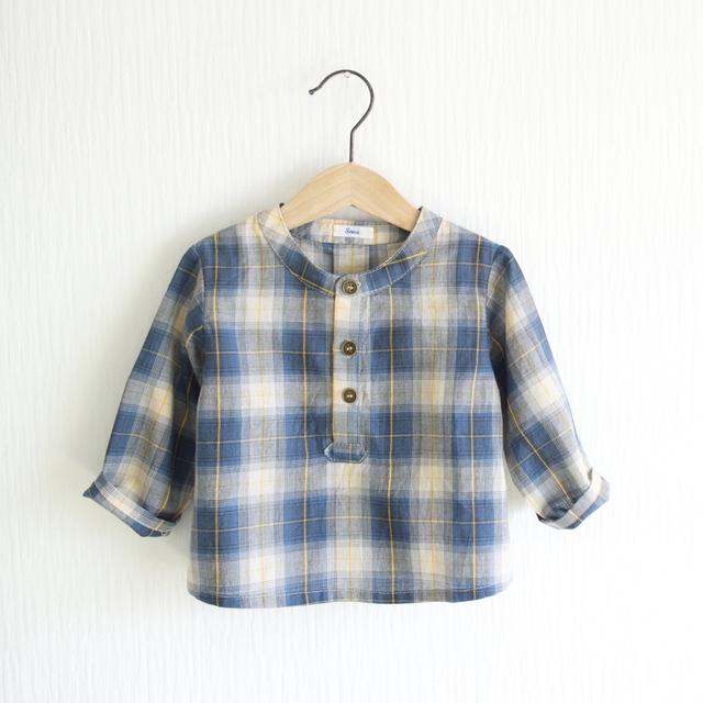 チェックシャツ 80cm