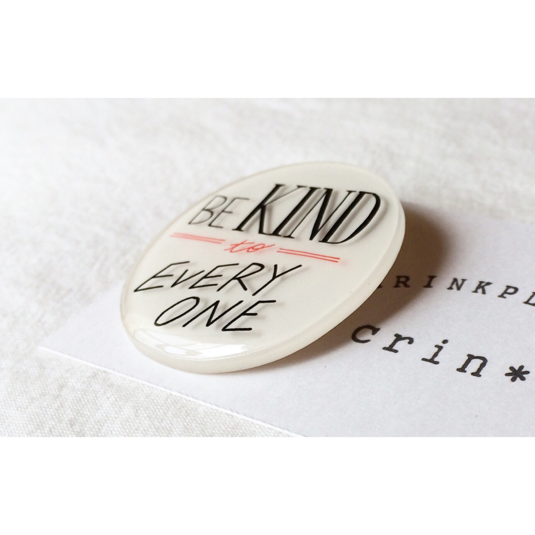 message brooch
