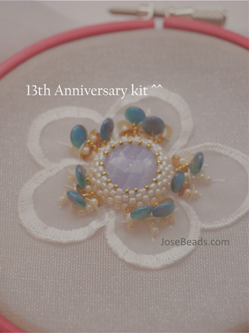 <Blue lace Hana>13th anniversary May 2018