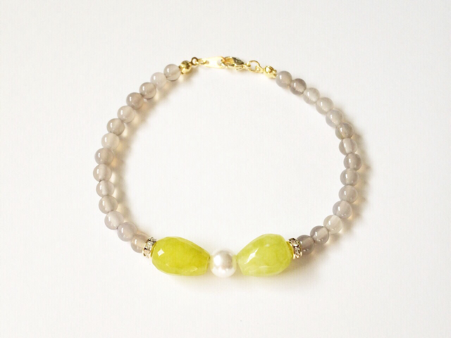 bow bracelet (muscat)
