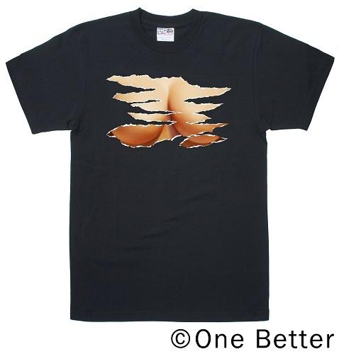 【チチダス】ブラック★ Tシャツタイプ
