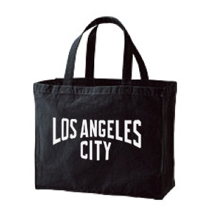 【再販】CITY(ロサンゼルス) 綿100% トートバックL 【受注生産品】