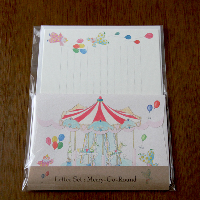 Letter Set Merry-Go-Round (レターセット)