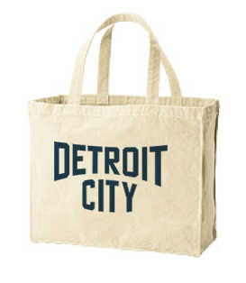 CITY(デトロイト) 綿100% トートバックL 【受注生産品】