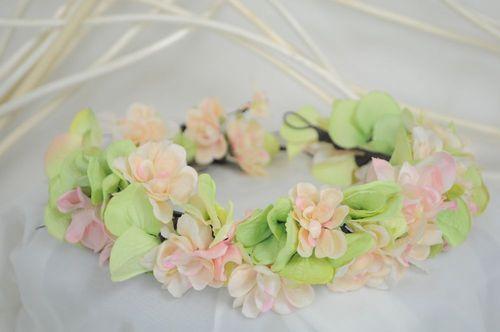 花かんむり〜フェアリーピンク〈送料無料〉