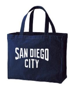 CITY(サンディエゴ) 綿100% トートバックL 【受注生産品】
