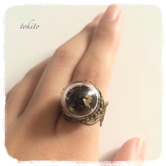 毒りんごの指輪*紫