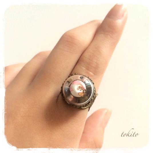 毒りんごの指輪*白