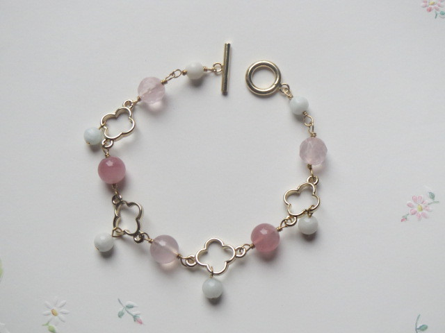 美女桜のブレスレット