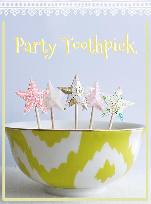 �ں��Ρ�Party Toothpick !!���������ʥ������ԥå���